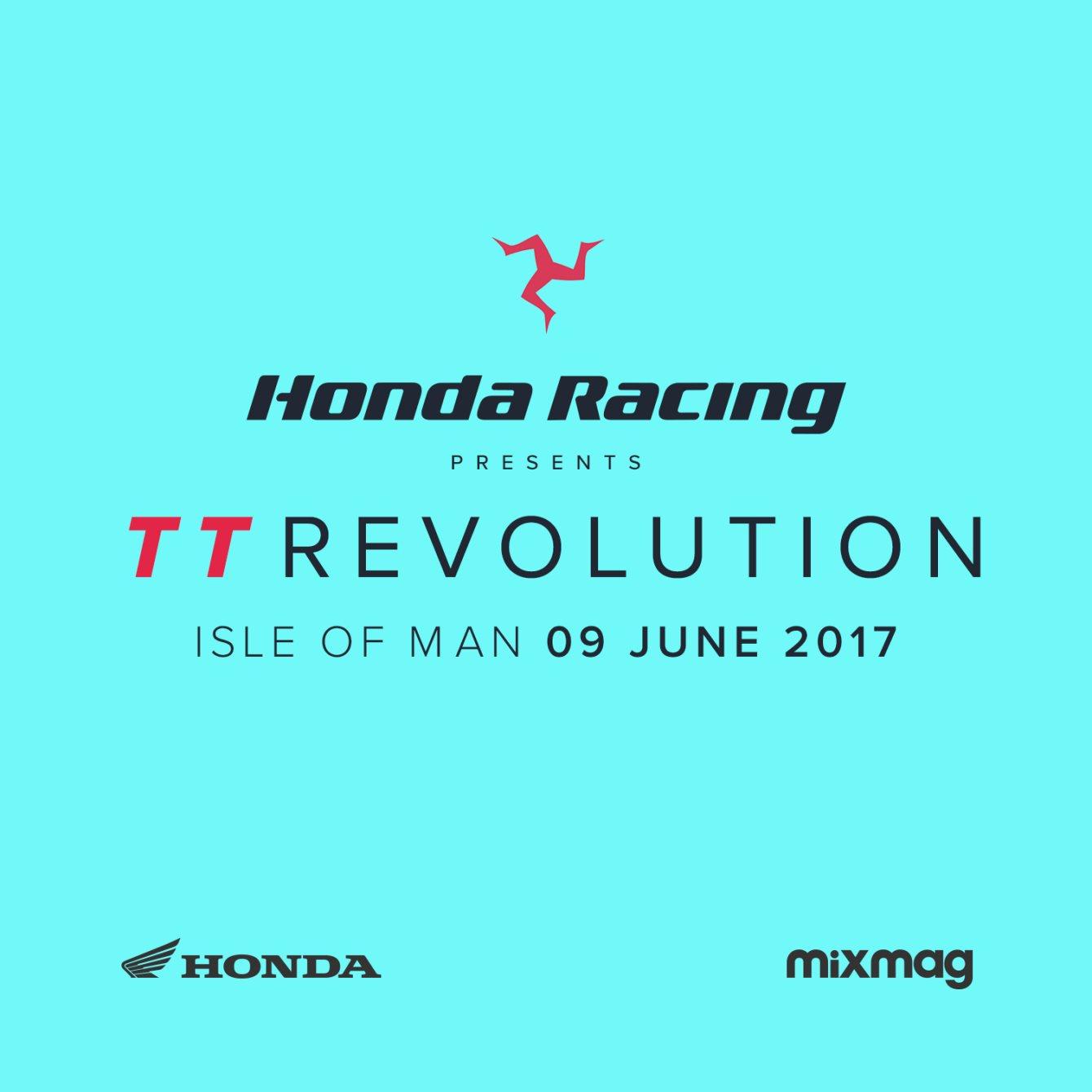 Honda TT Revolution - Flyer back
