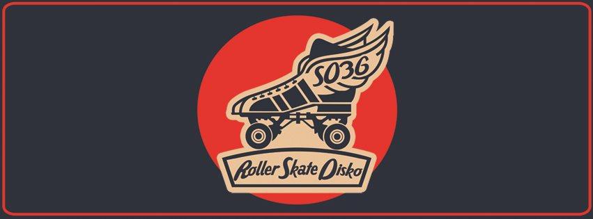 Roller Skate Disko - Flyer front
