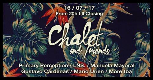 Chalet + Friends Open Air - Flyer front
