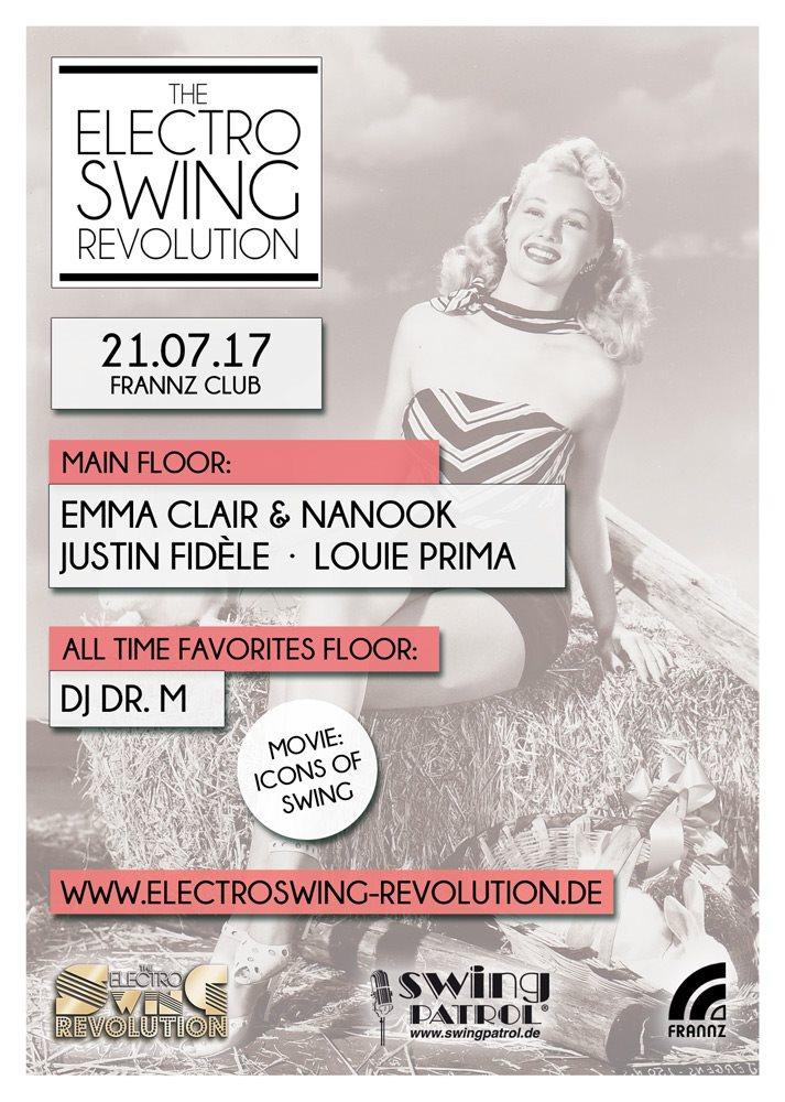 Electro Swing Revolution - Flyer back