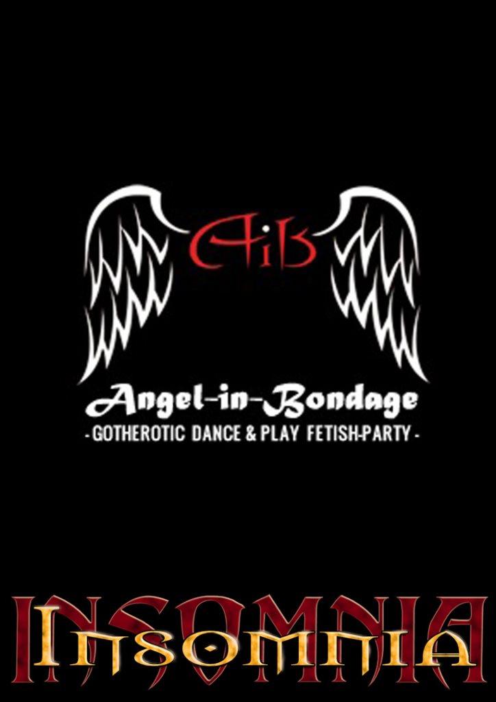 Angel-in-Bondage - Flyer front