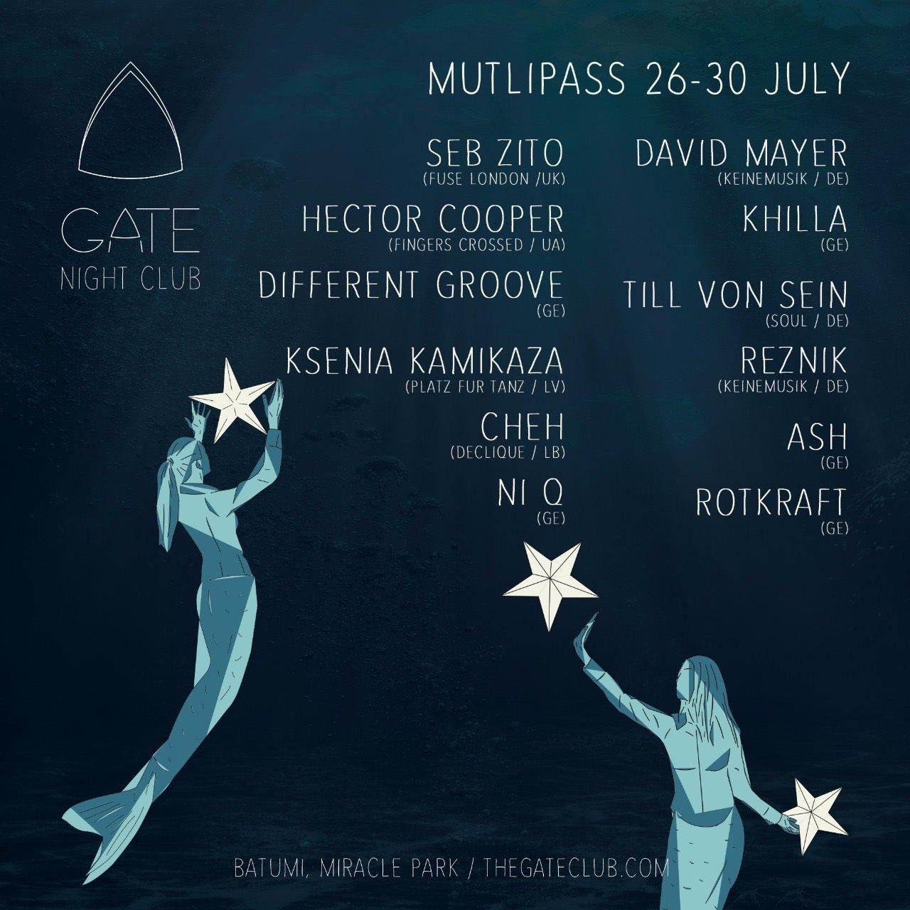 Jazz Festival Weekend - Flyer front