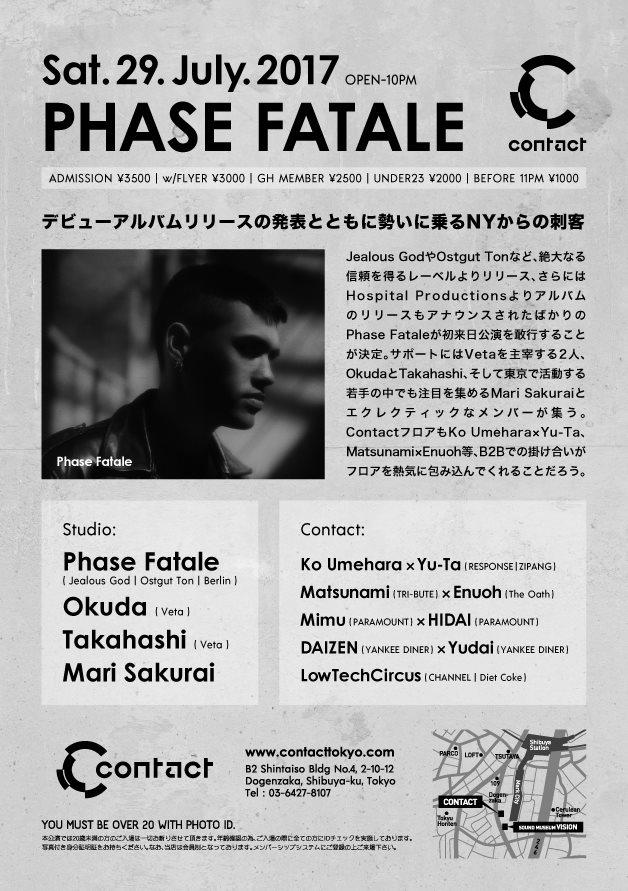 Phase Fatale - Flyer back