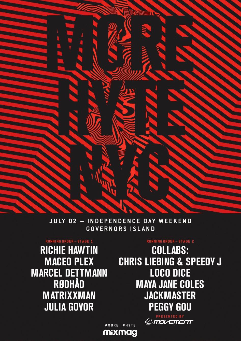 HYTE New York - Flyer front