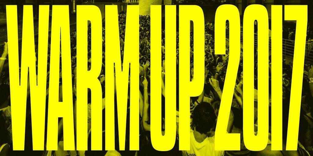 Warm Up July 22: Roni Size / Evian Christ / Laurel Halo (DJ set) / Jlin / J. Albert - Flyer front