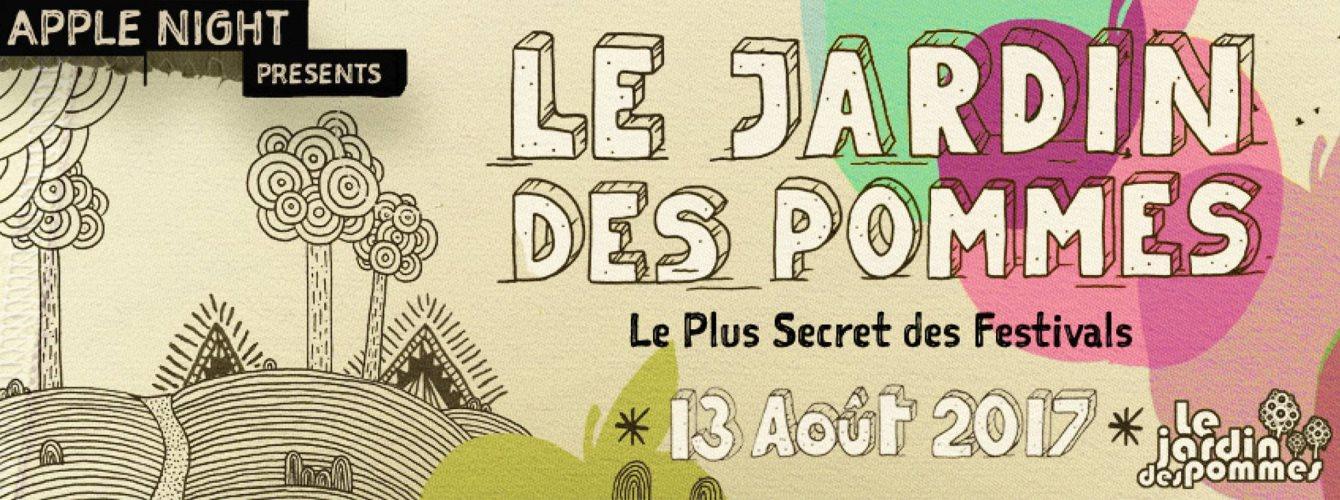 Le Jardin Des Pommes 2017 presents Steve BUG - Flyer front