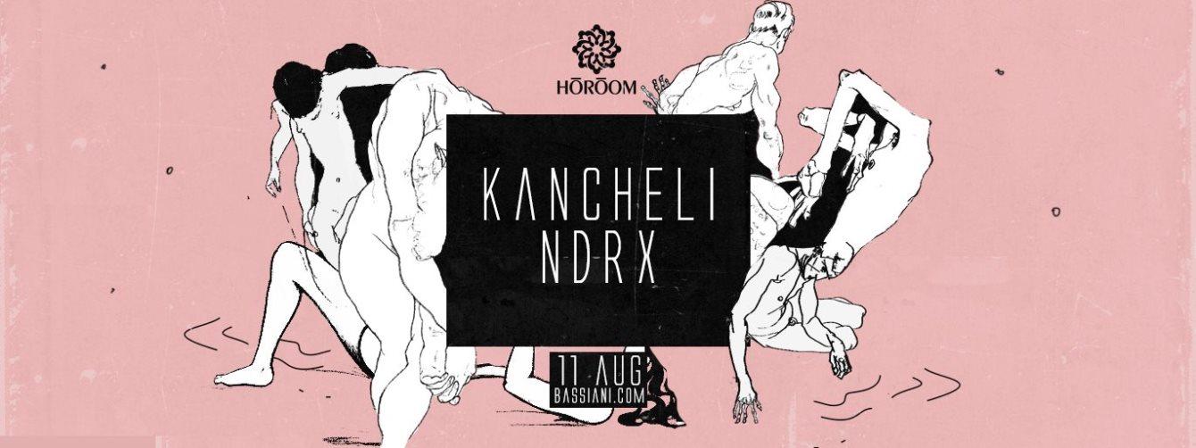 Horoom: Kancheli, Ndrx - Flyer front