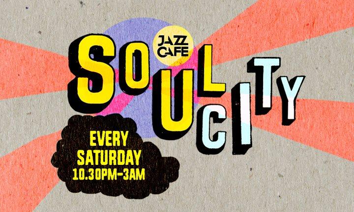 Soul City presents: DJ Format - Flyer front