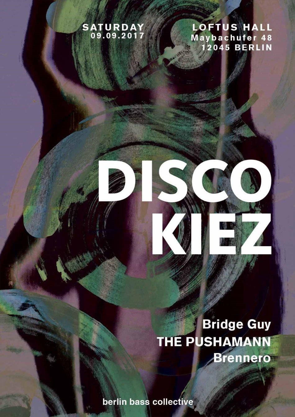 Disco Kiez - Flyer front