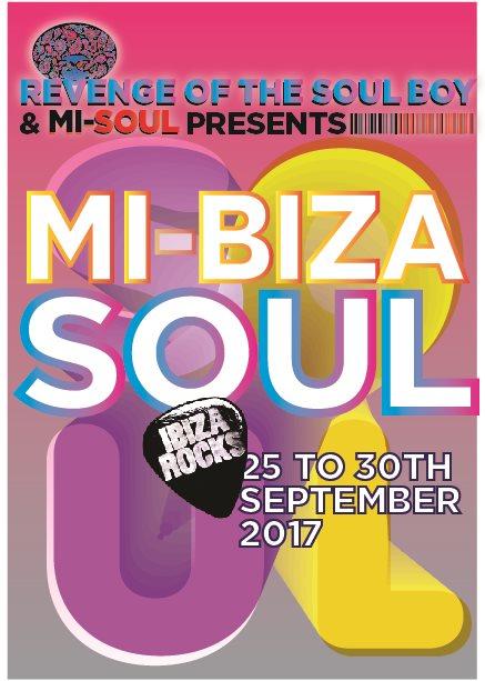 Mi-Biza Soul - Flyer front