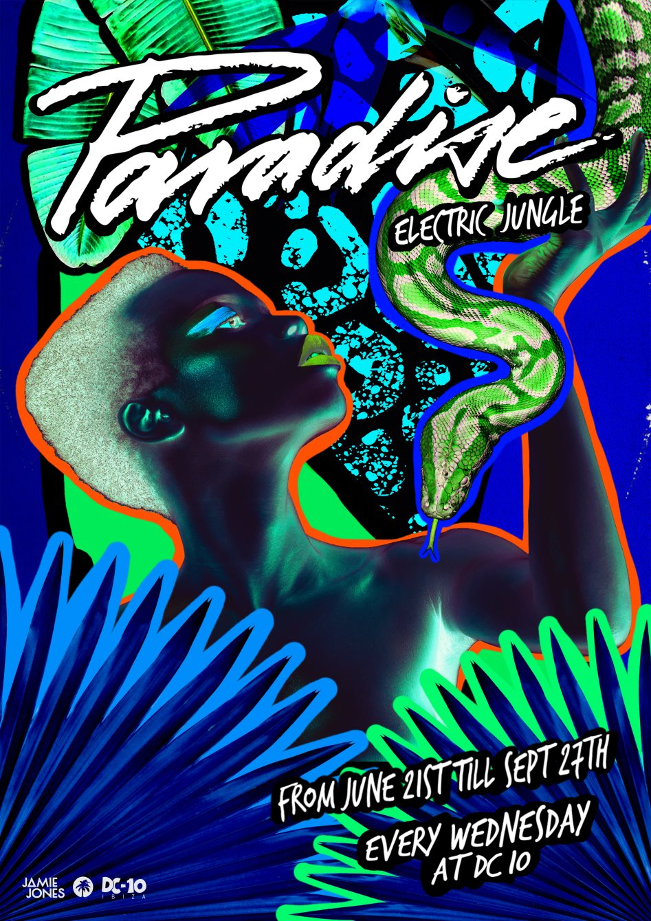 Paradise Closing Party - Flyer front