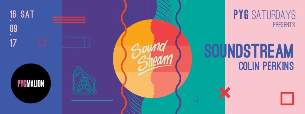 Pyg presents Soundstream - Flyer back