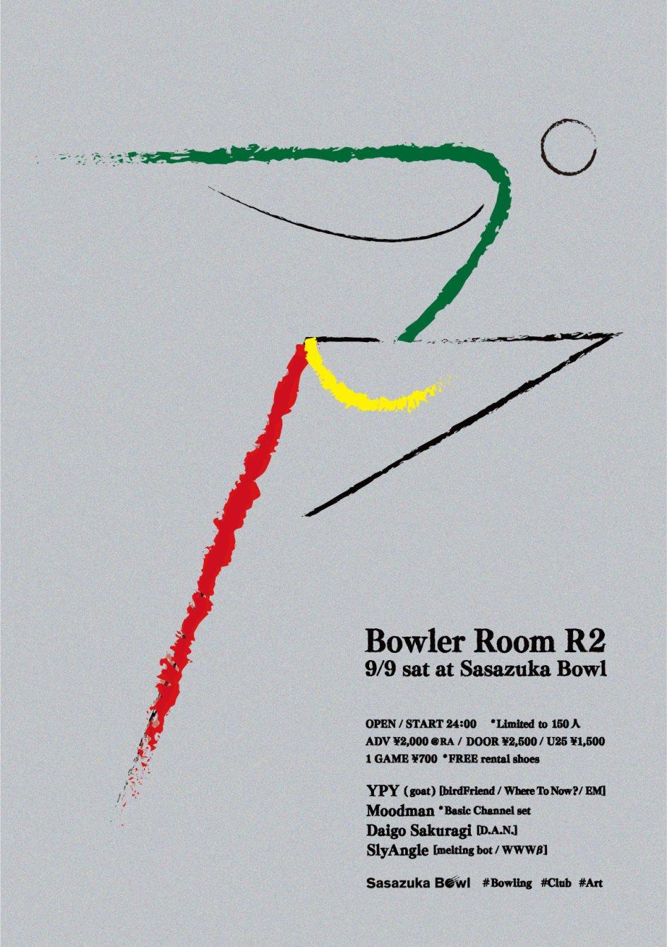 Bowler Room R2 - Flyer back