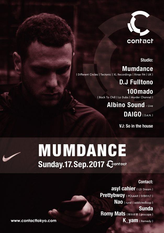 Mumdance - Flyer back