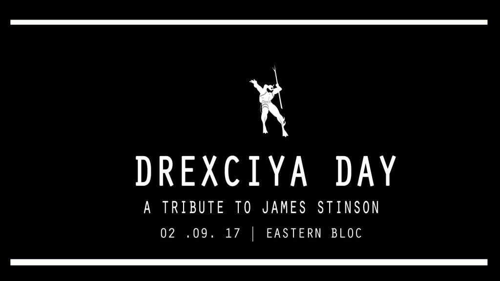 Drexciya Day - A Tribute to James Stinson - Flyer front
