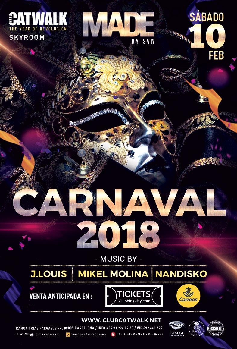 Made: Carnaval - Flyer front
