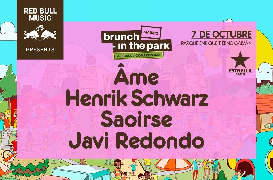 Brunch -In the Park #3: Âme, Henrik Schwarz, Saoirse - Flyer front
