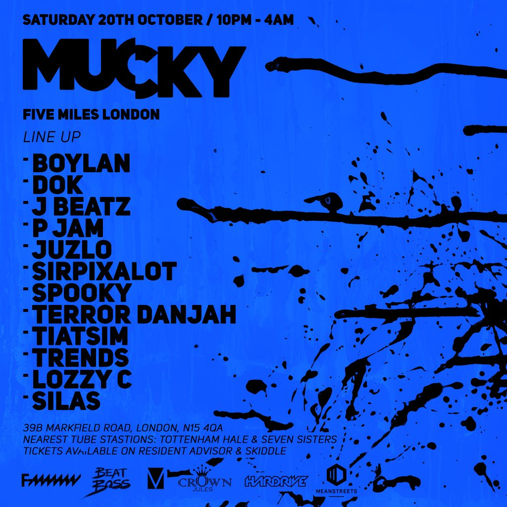 Mucky - Flyer front