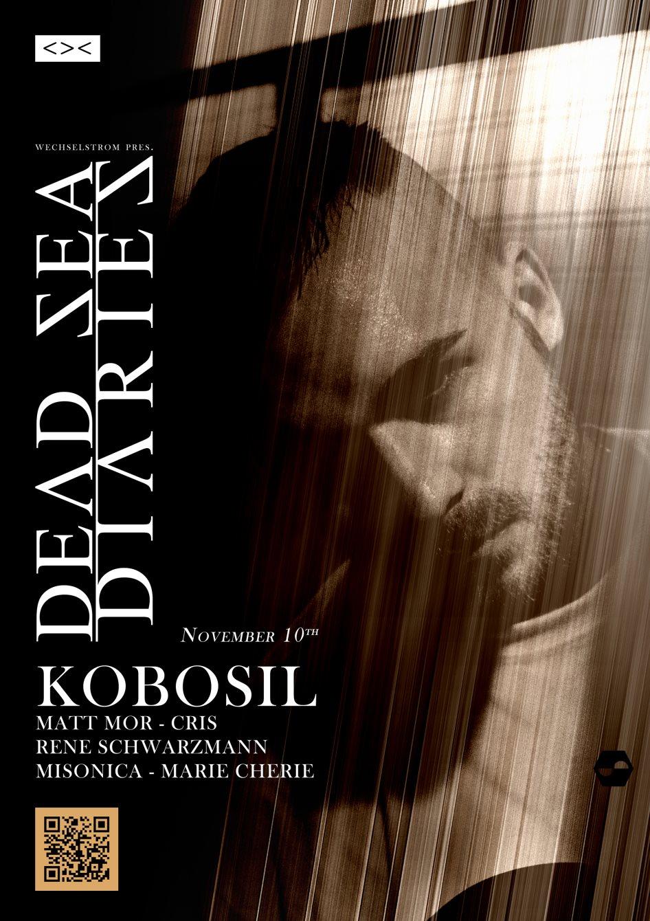 Dead Sea Diaries Feat. Kobosil - Flyer front
