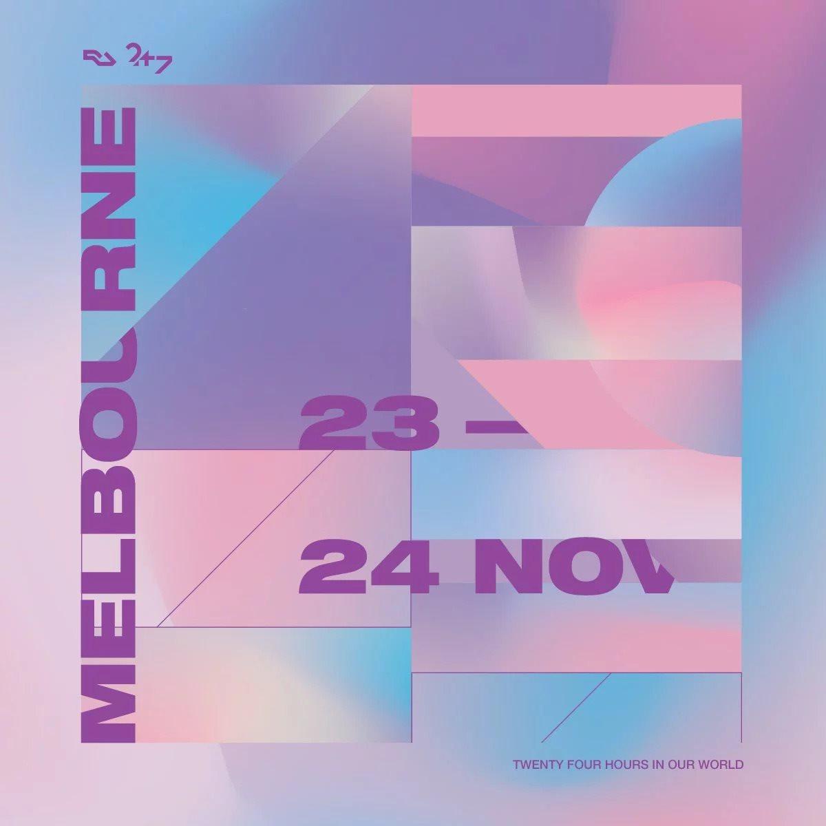 24/7 Melbourne - Flyer back