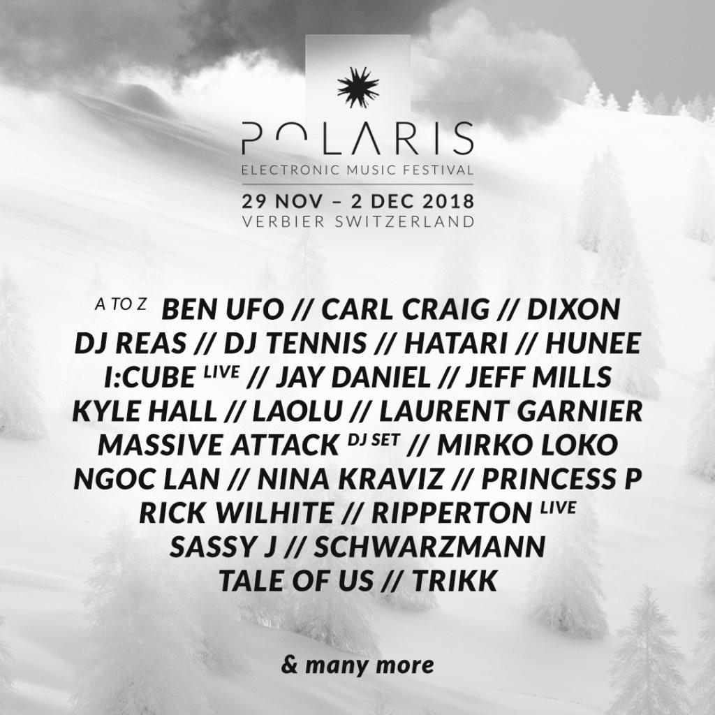Polaris Festival 2018 - Flyer front