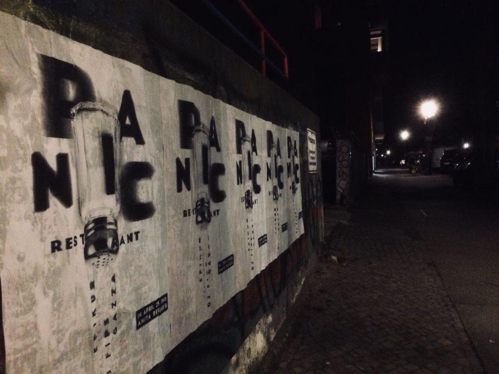 Panic Restaurant - Season 4 - Flyer front