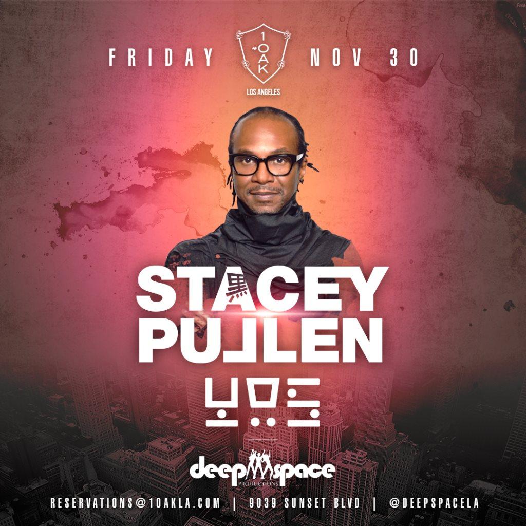 Stacey Pullen - YOS - Flyer front