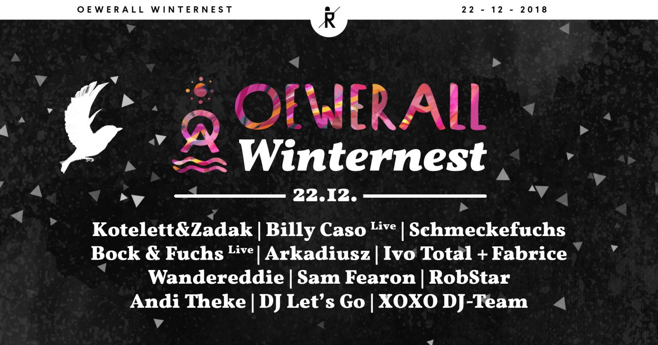 Oewerall Winternest - Flyer front