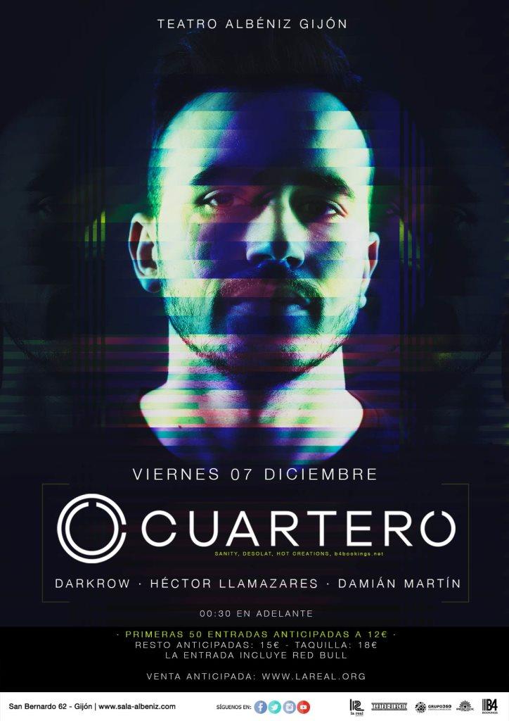 Cuartero - Flyer front