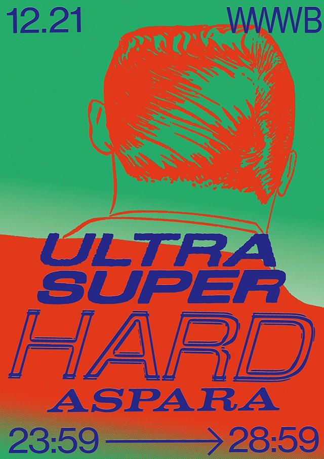 Ultra Super Hard - Aspara 5hour - - Flyer front