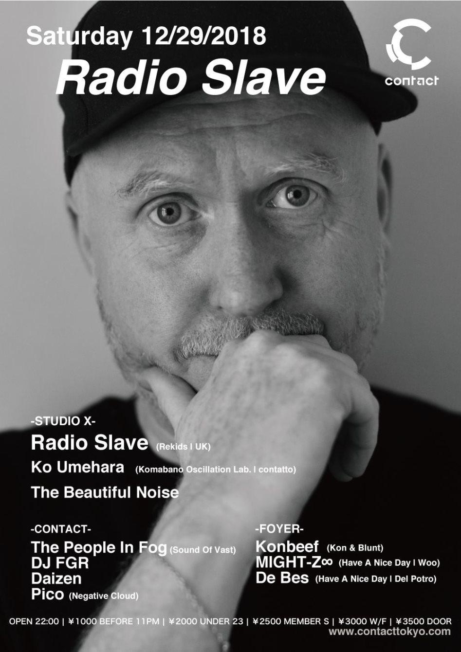 Radio Slave - Flyer front