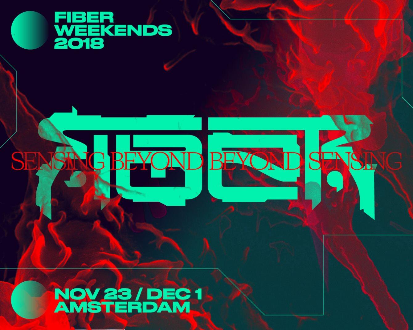FIBER Weekends 2018: Sensory Shifts Club & Performance Night - Flyer front