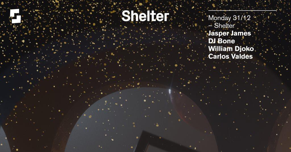 Shelter; NYE (Sold Out) - Flyer front