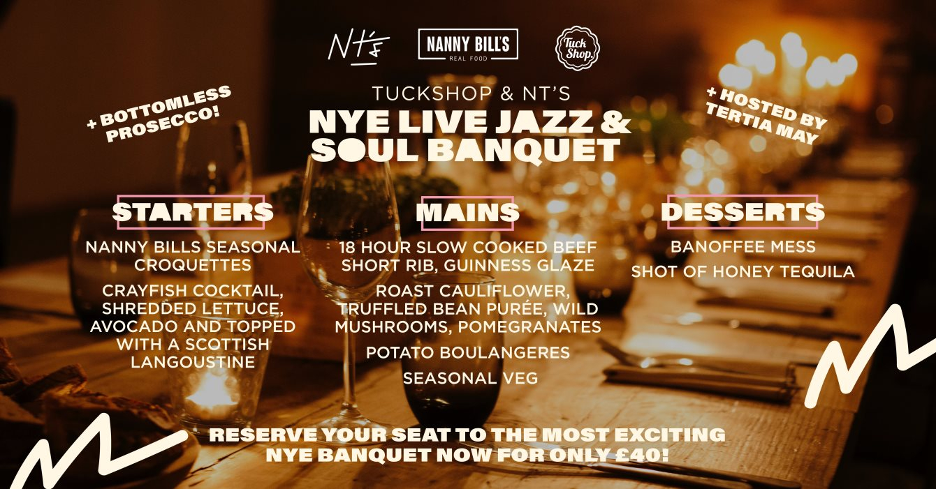 Tuckshop x NT's New Years Eve with Lefto & Special Guests - Flyer back