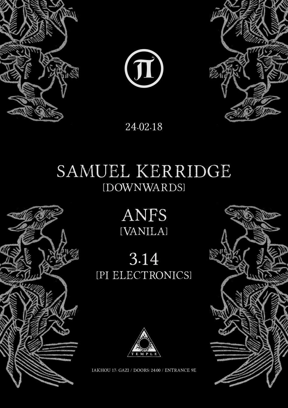 Π30 with Samuel Kerridge - Flyer back