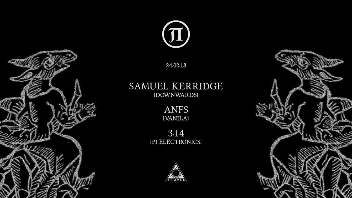 Π30 with Samuel Kerridge - Flyer front