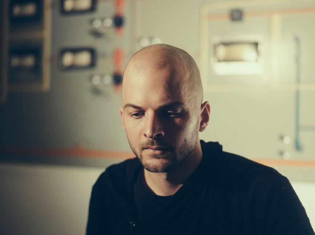 Nils Frahm - Flyer front