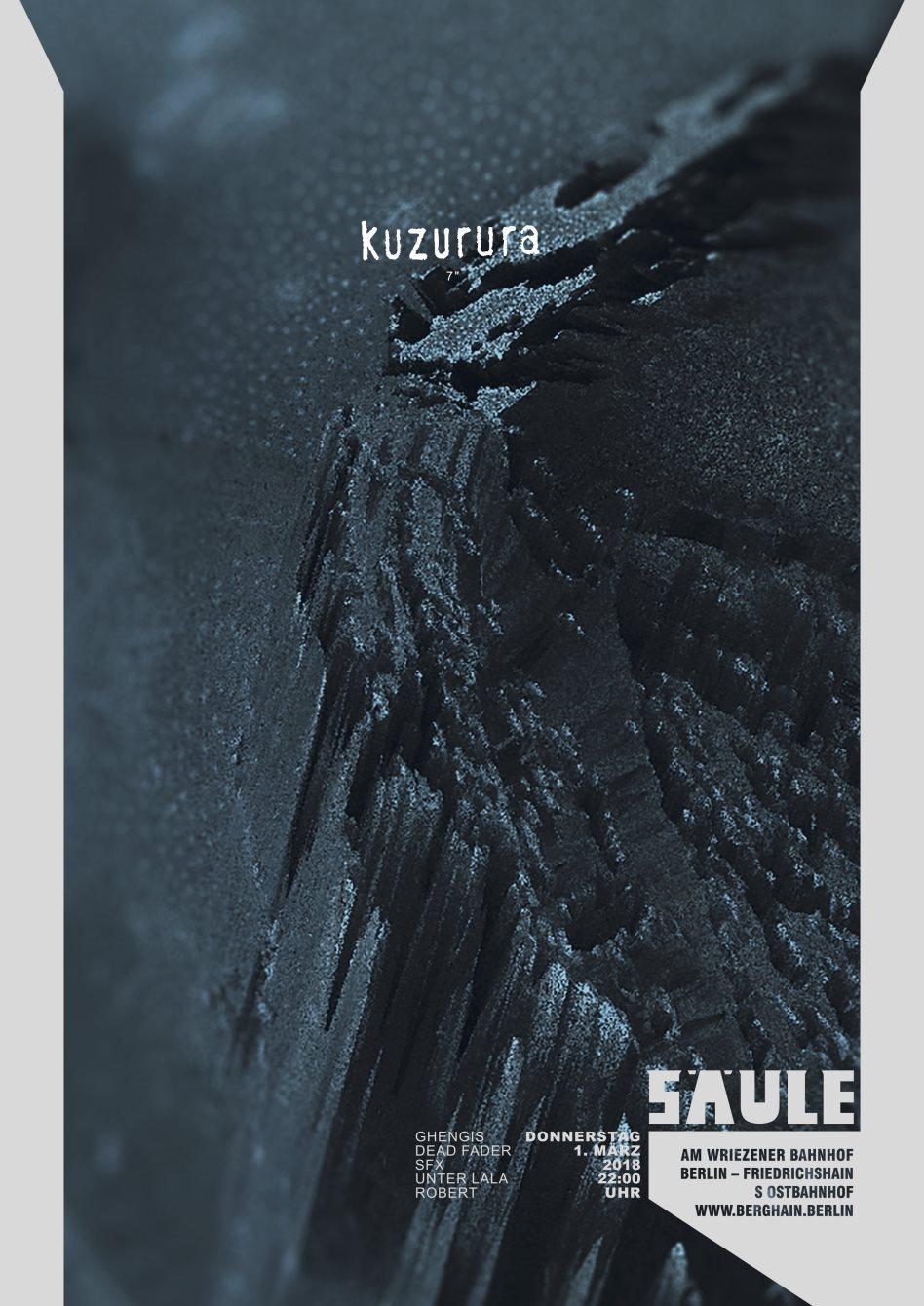 Kuzurura - Flyer back