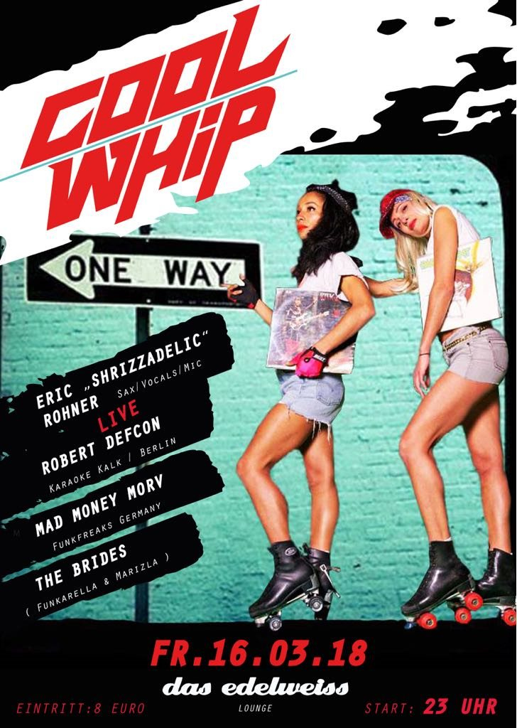 Cool Whip - Flyer front