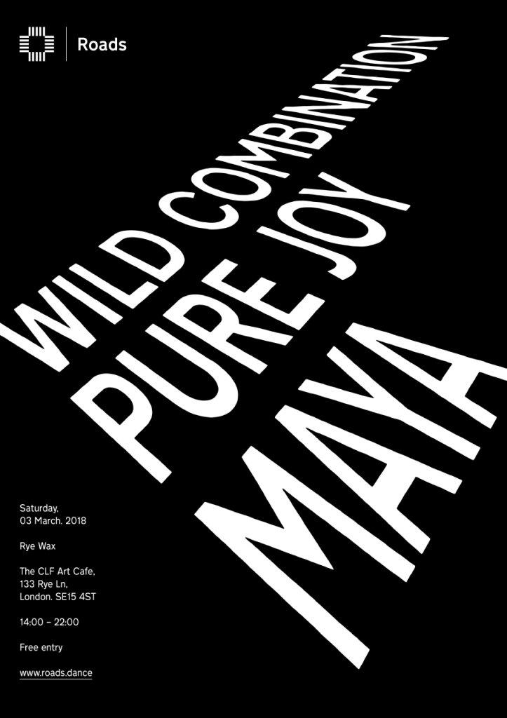 Roads 14: Wild Combination (Maya & Pure Joy) - Flyer front