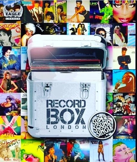 Record Box London - Flyer front