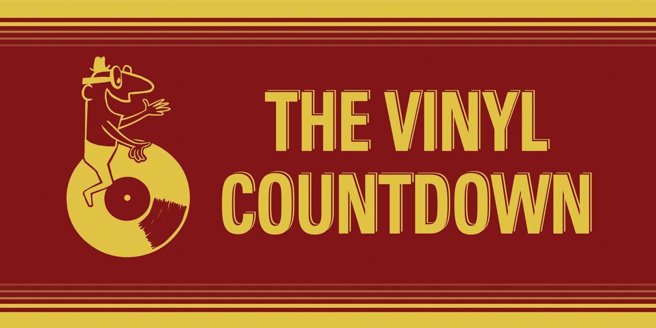 Count Sizzle's Vinyl Countdown - Flyer front