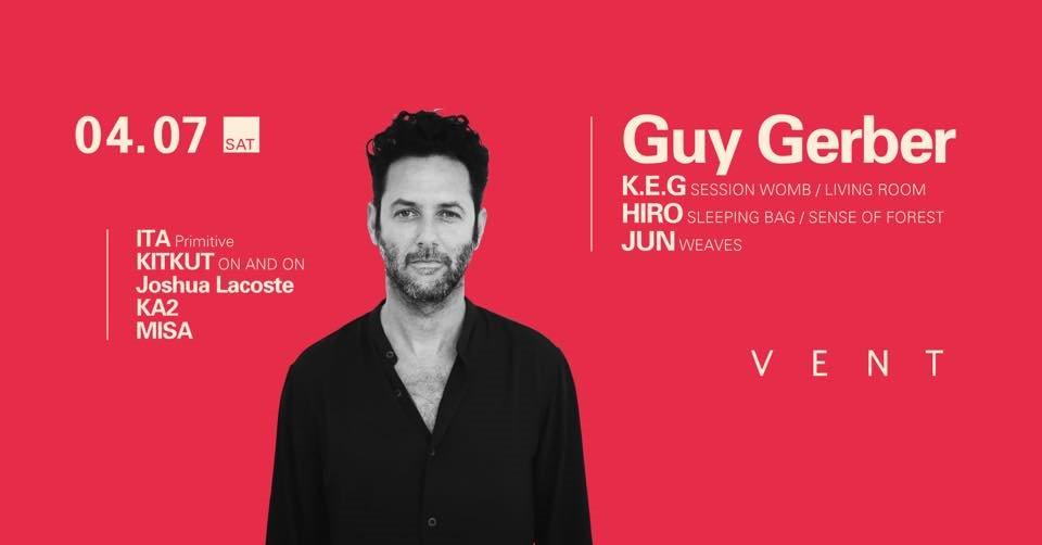 Guy Gerber - Flyer front