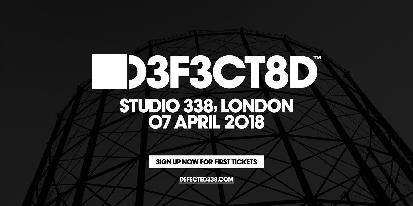 Defected London - Flyer front