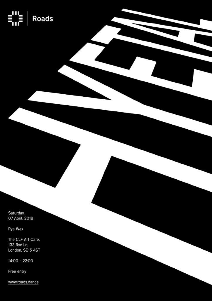 Roads 15: Hyetal & Friends - Flyer front