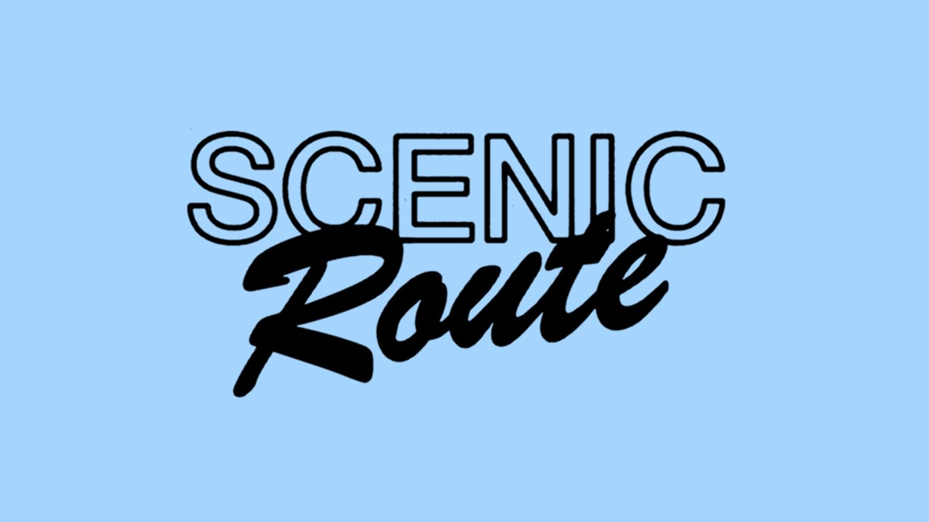 Scenic Route 002 - Flyer front