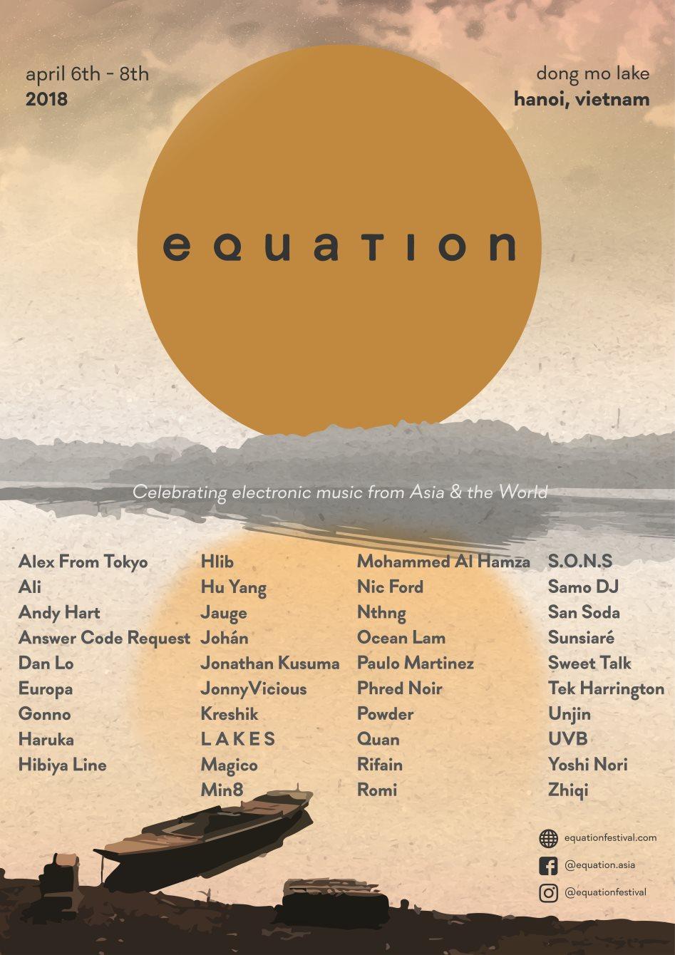 Equation 2018 - Flyer front