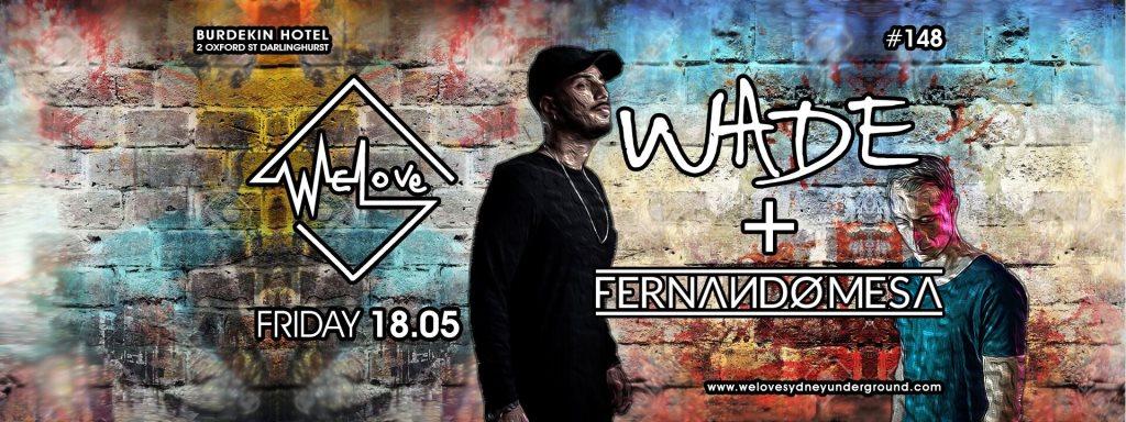 WeLove Wade & Fernando Mesa - Flyer front