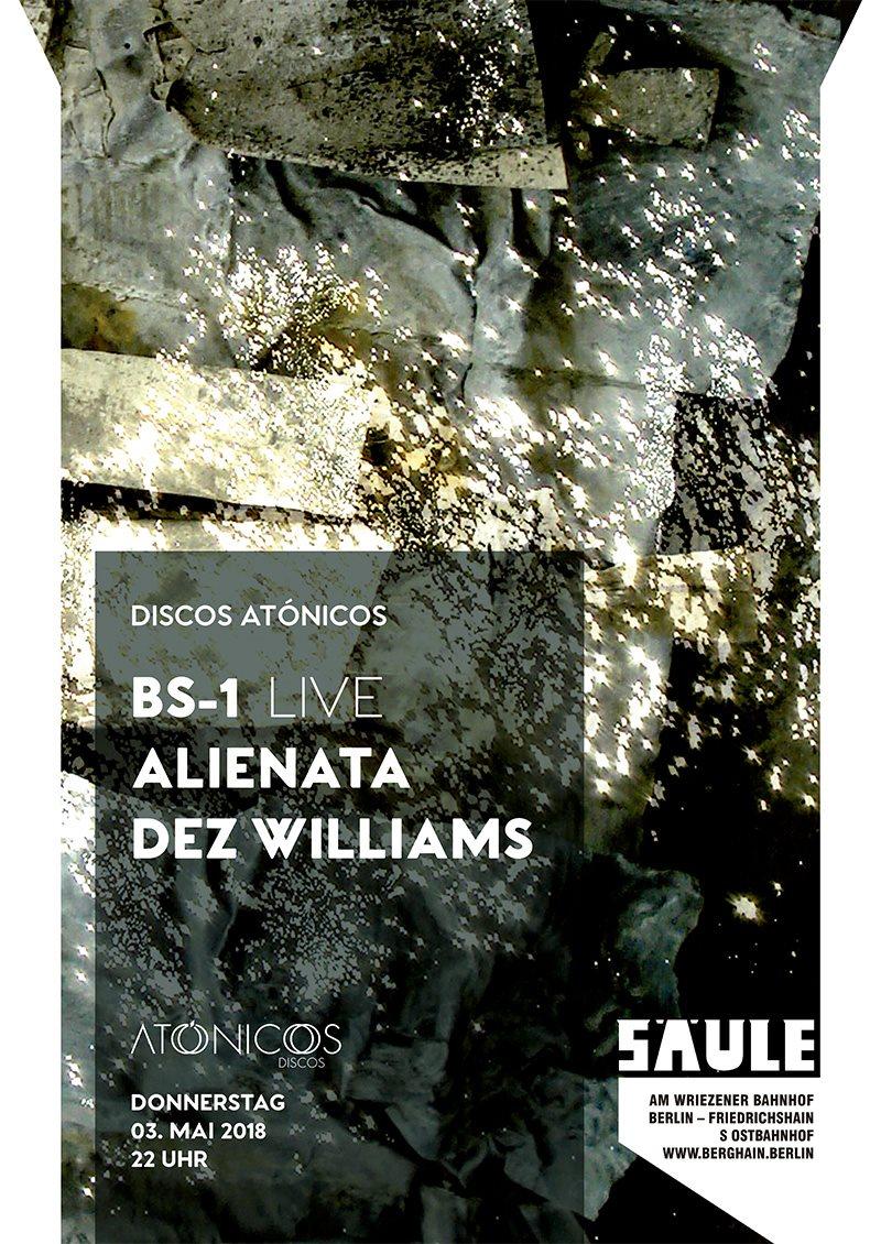 Discos Atónicos - Flyer back