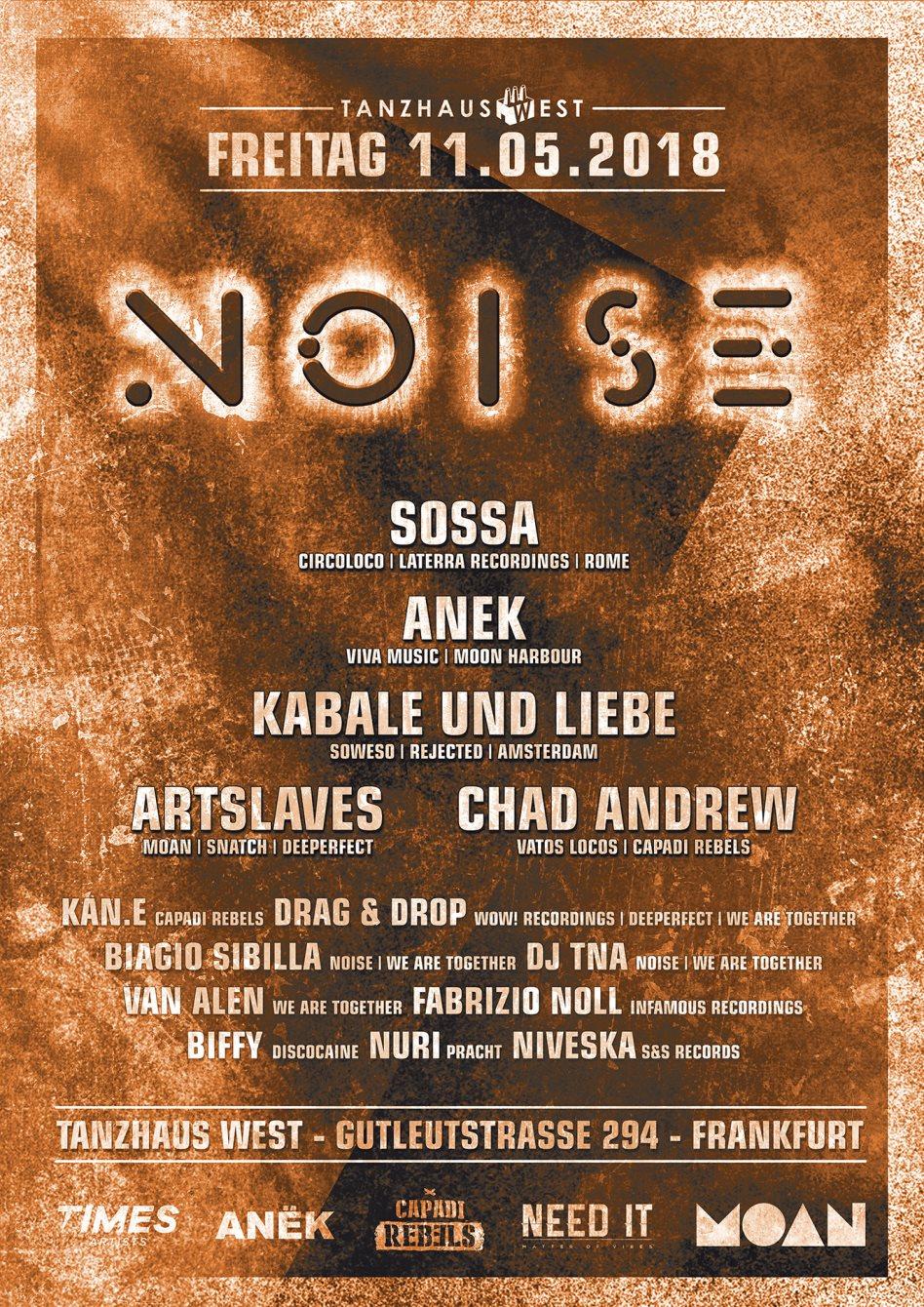 Noise Part II - Flyer front